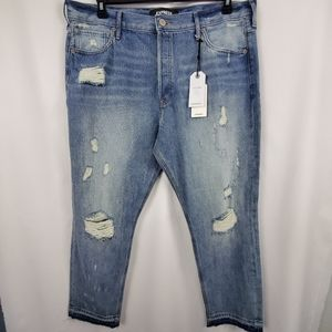 Express Vintage Skinny Jeans Size 14 High Rise NEW